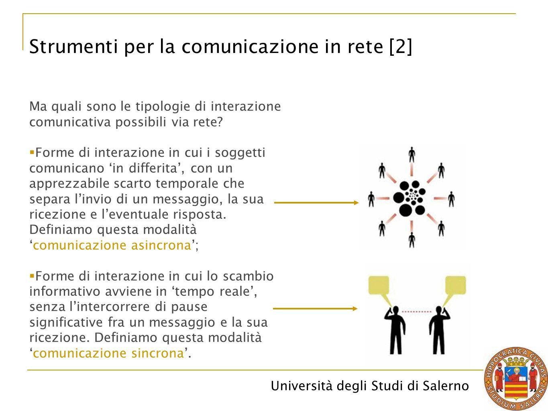 Strumenti per la comunicazione in rete [2]